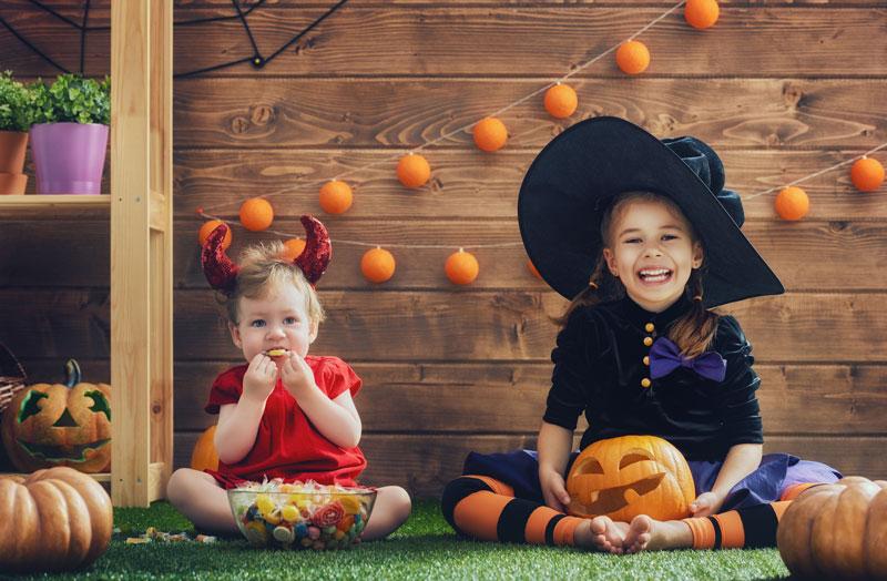 Fun and Healthy Halloween Treats!