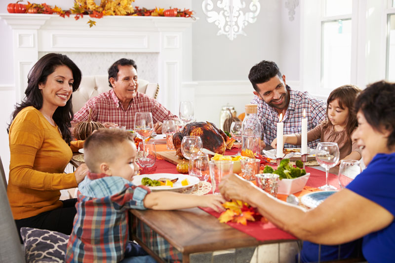 Protecting Your Home Through Thanksgiving Festivities
